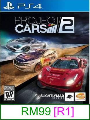 PS4 Project Cars 2 [R1] ★Brand New & Sealed★
