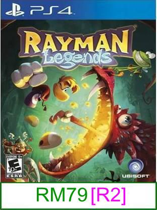 PS4 Rayman Legends [R2] ★Brand New & Sealed★