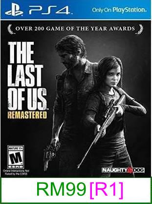 PS4 The Last Of Us Remastered [R1] ★Brand New & Sealed★