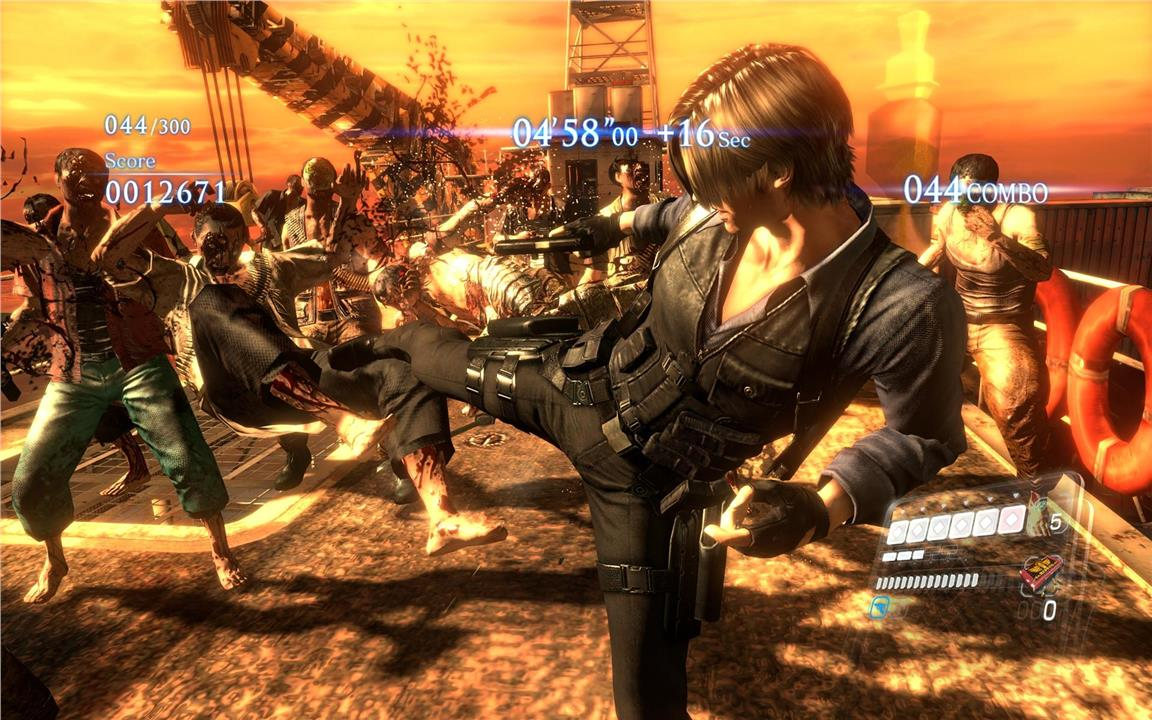 PS4 Resident Evil 6 HD-R2