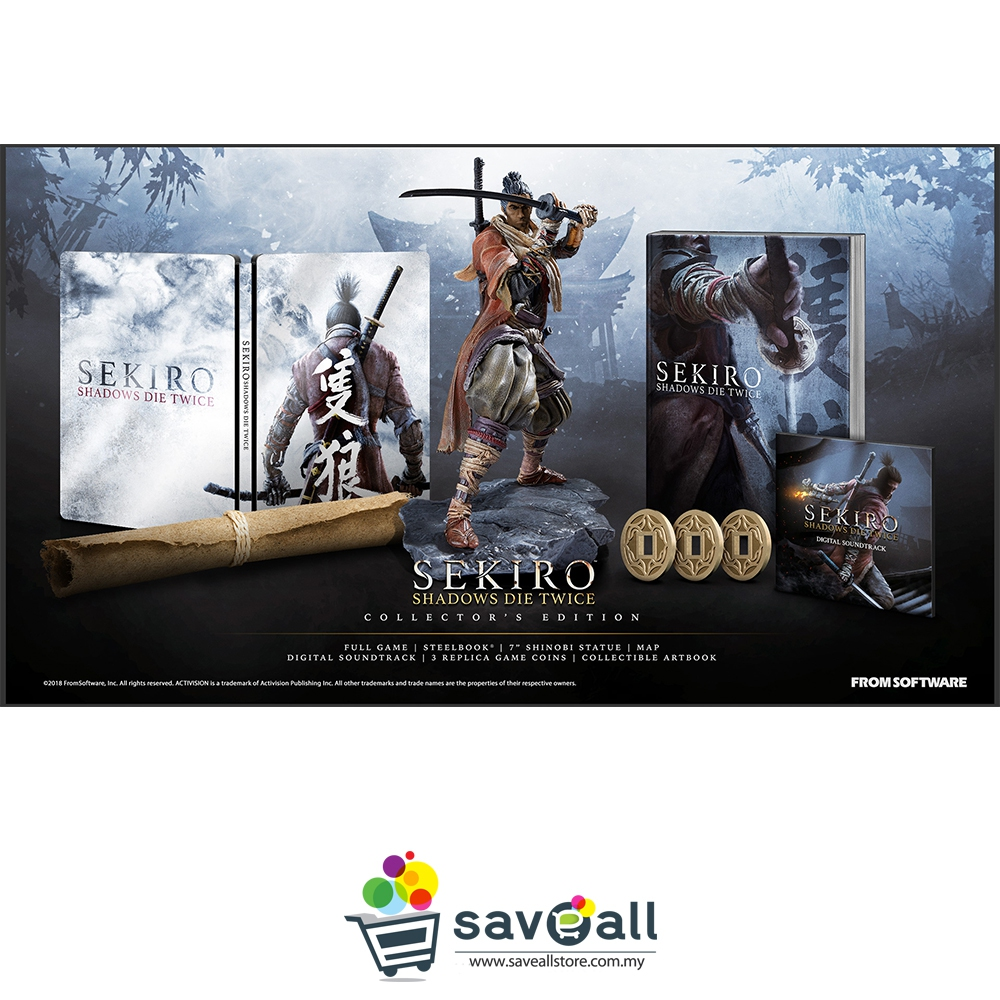 PS4 Sekiro Shadow Die Twice Collector Edition (R3/ENG/CHI)