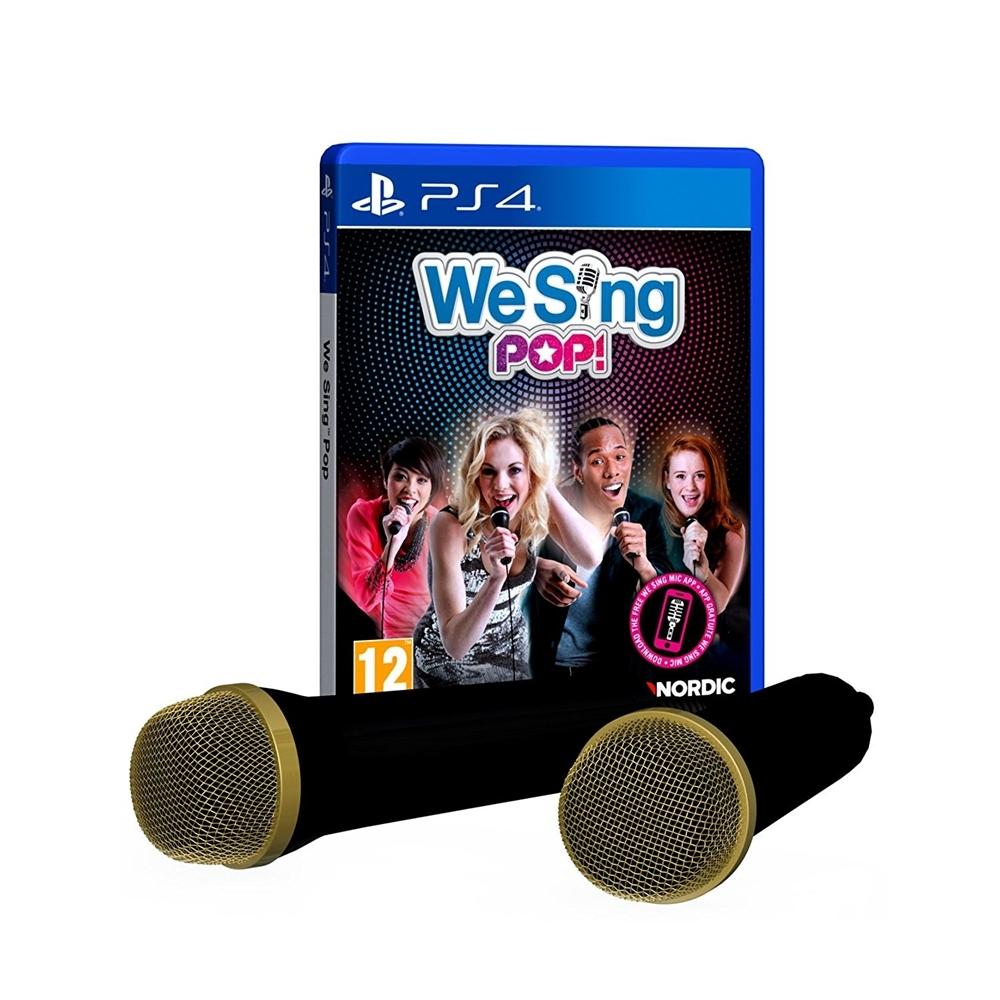 PS4 We Sing Pop 2 Mic Bundle (R2)