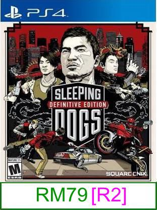 PS4 Sleeping Dogs Definitive Edition [R2] ★Brand New & Sealed&#9..