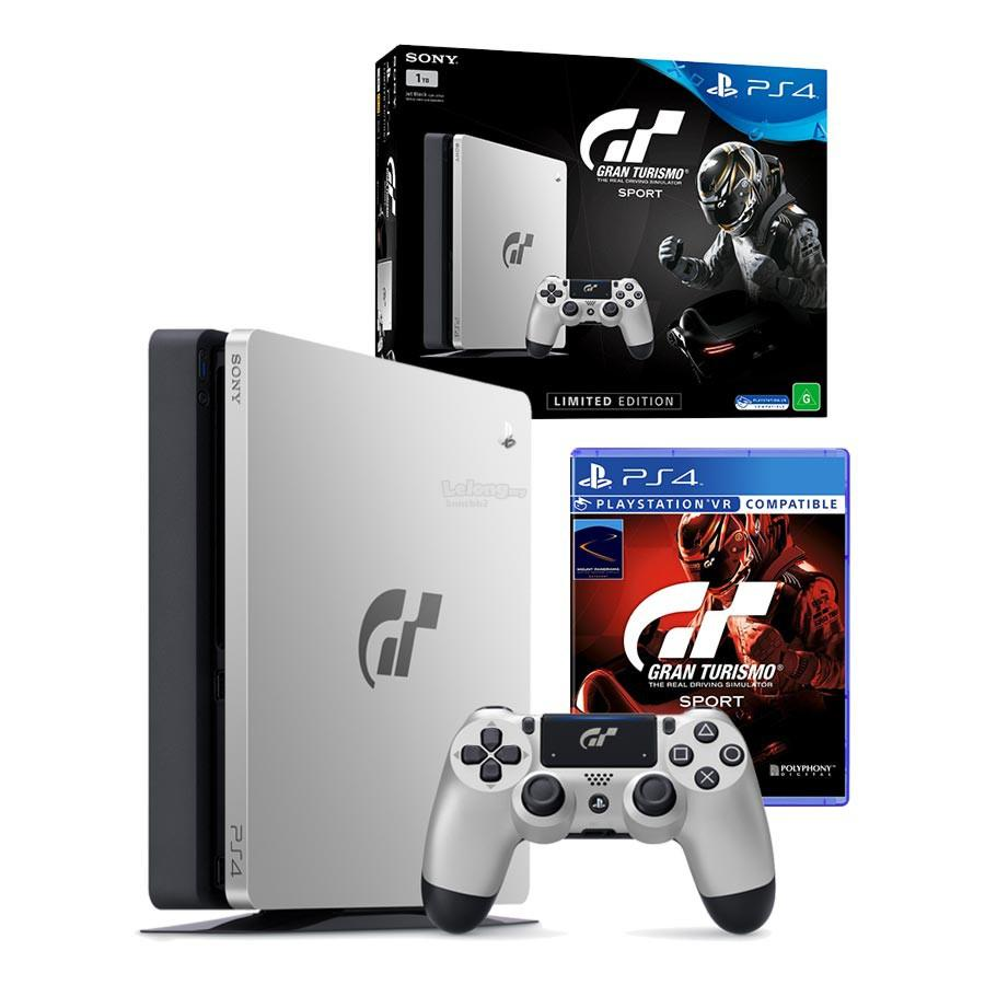ps4 slim 1tb gran turismo sport g end 10 30 2018 3 15 pm. Black Bedroom Furniture Sets. Home Design Ideas