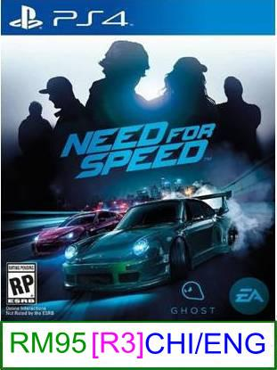 PS4 Need For Speed (CHI/ENG) [R3] ★Brand New & Sealed★
