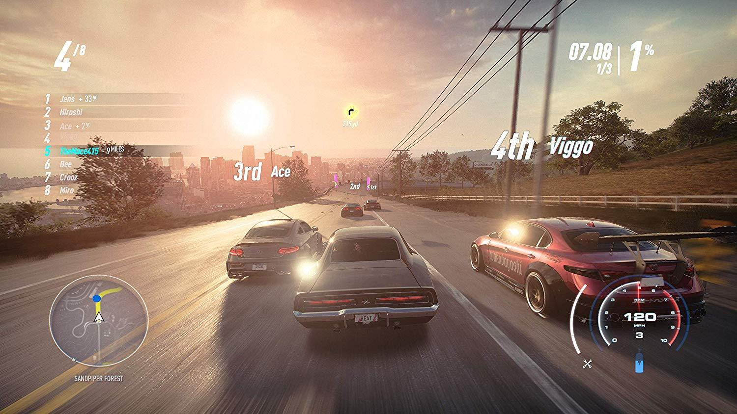 PS4 Need for Speed Heat - PlayStation 4 (R3/ENG)