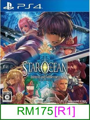 PS4 Star Ocean 5 Integrity and Faithlessness [R1] ★Brand New & S..