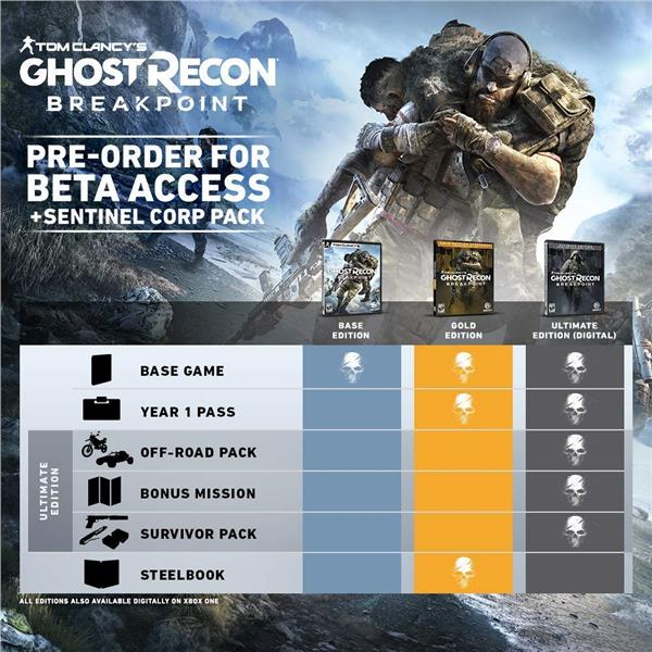 PS4 TOM CLANCY'S: GHOST RECON BREAKPOINT (R3/ENG)