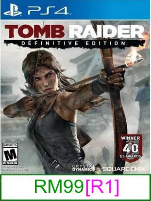 PS4 Tomb Raider Definitive Edition [R1] ★Brand New & Sealed&#973..