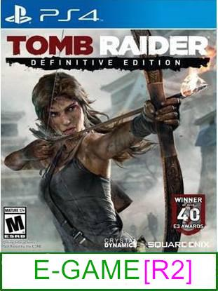 PS4 Tomb Raider Definitive Edition [R2] ★Brand New & Sealedύ..