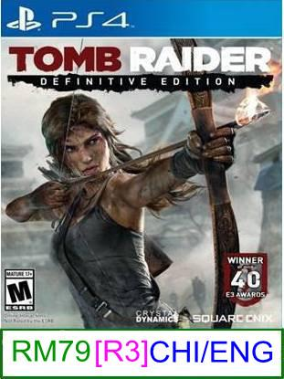 PS4 Tomb Raider Definitive Edition [R3] ★Brand New & Sealedύ..