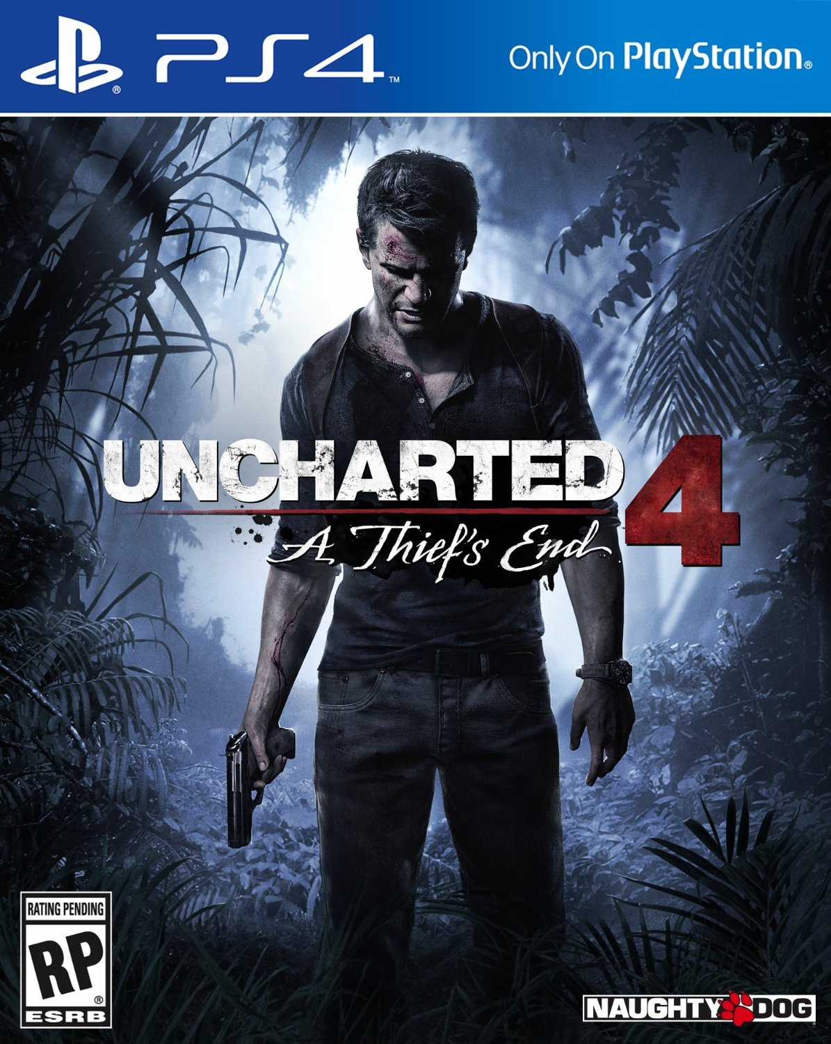 Image result for uncharted 4 game case