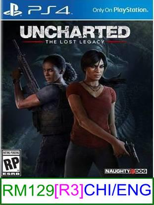 PS4 Uncharted The Lost Legacy [R3] ★Brand New & Sealed★