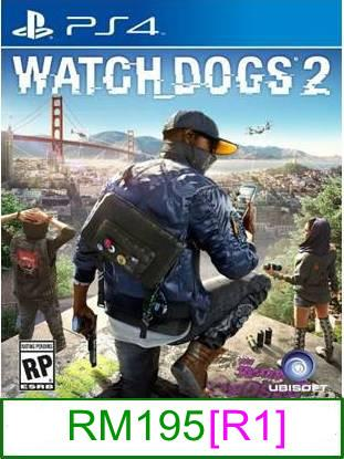 PS4 Watch Dogs 2 [R1] ★Brand New & Sealed★