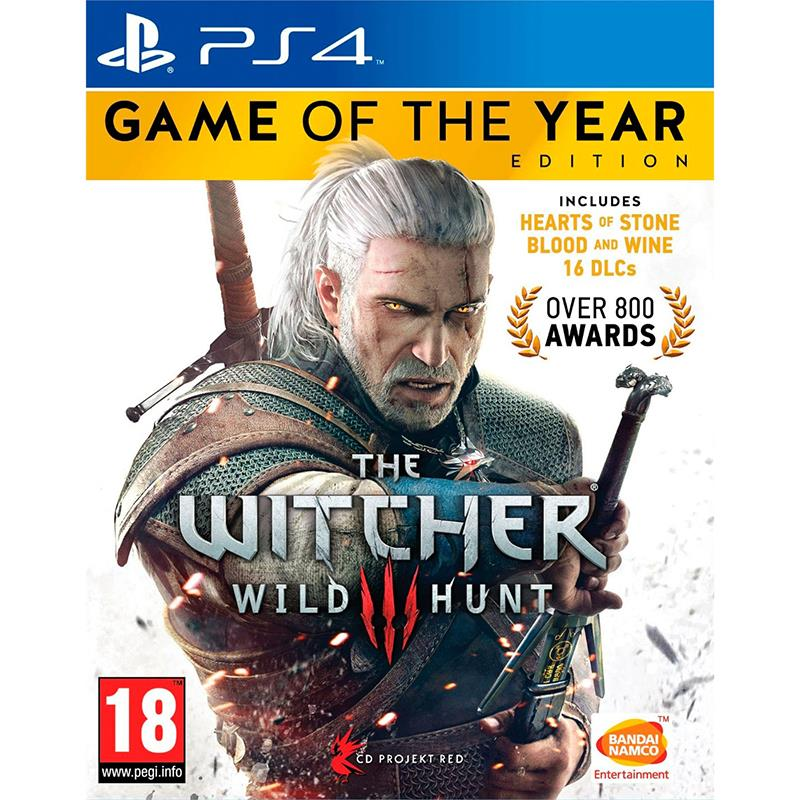PS4 The Witcher 3: Wild Hunt - Game of The Year Edition R3 (ENG/CHI)