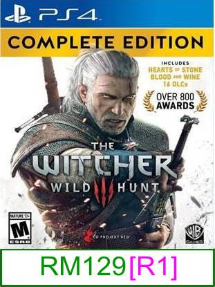 PS4 The Witcher 3 Wild Hunt (GOTY) [R1] ★Brand New & Sealed&#973..