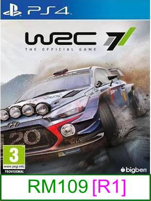 PS4 WRC 7 [R1] ★Brand New & Sealed★