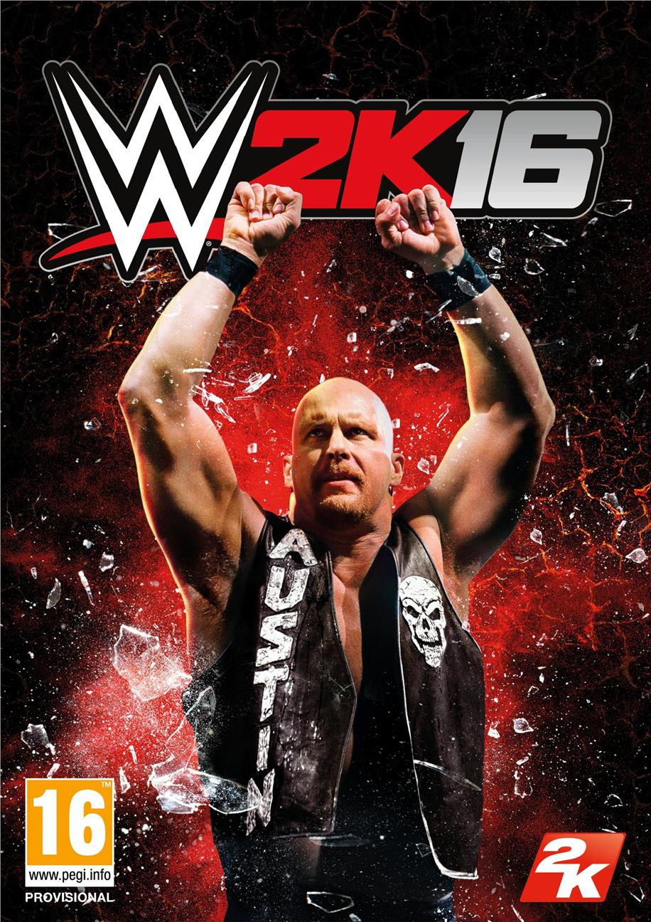 PS4 WWE 2K16 Disc Game