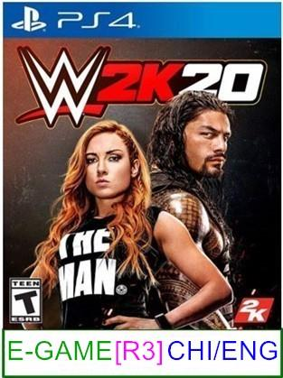 PS4 WWE 2K20 (CHI/ENG) [R3] ★Brand New & Sealed★