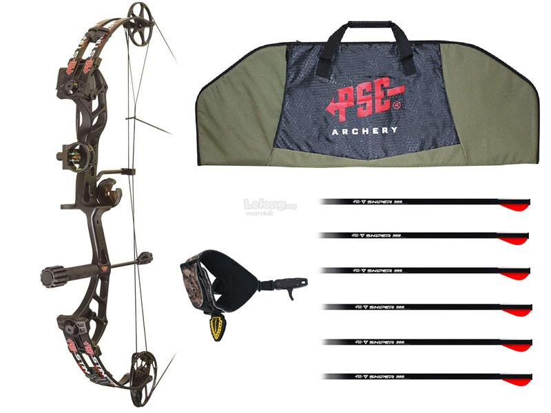 PSE Stinger Extreme Compound Bow Package FR