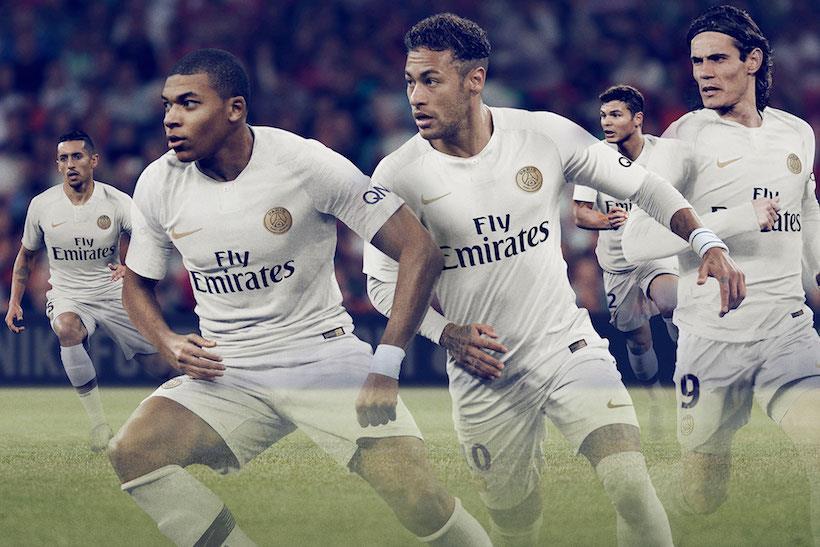 c9ad1858230 PSG Paris Saint Germain Away 2018 2019 Jersey Short Sleeve for Men