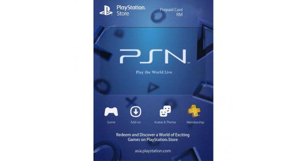 PSN RM200 (PlayStation Network Digital Code)