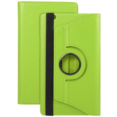 PU LEATHER 360 DEGREE ROTATING BACK CASE HOLDER PROTECTIVE COVER FOR HUAWEI ME