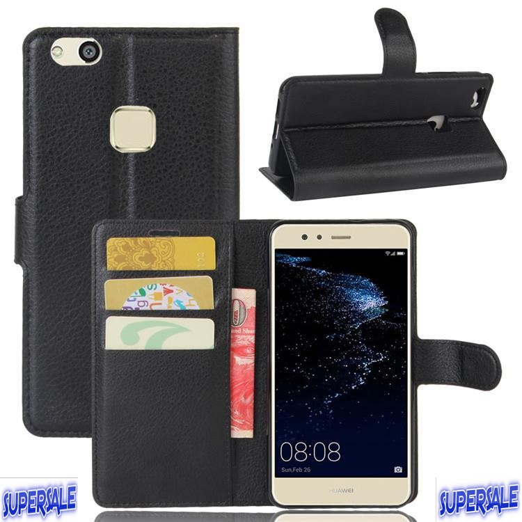 PU Leather Flip Casing Case Cover for Huawei P10 Lite