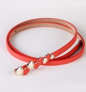 PU Leather Love Heart Belt 14148