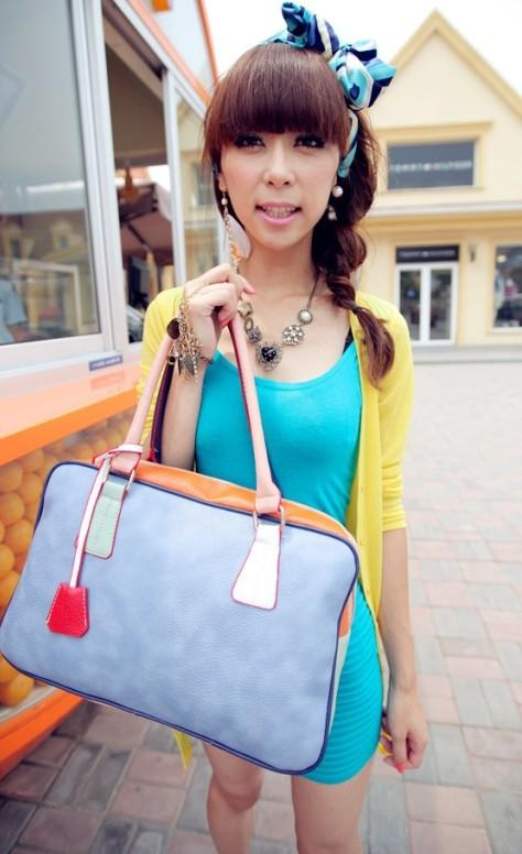 PU Leather Single Shoulder Bag 14219