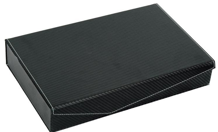 PU Leather Sunglasses / Spectacular Storage Box 6 Slots (Carbon Black)