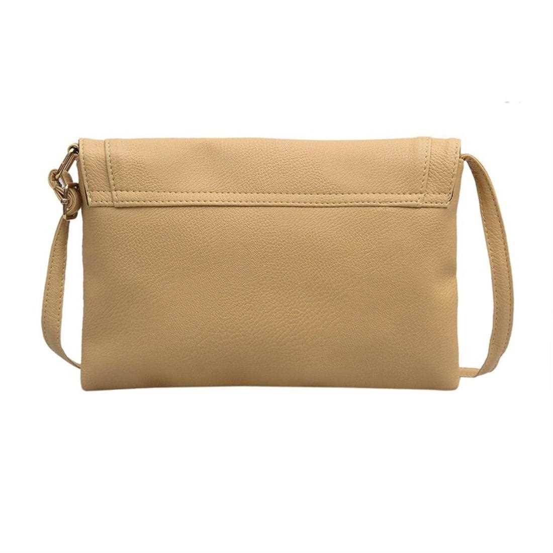 PU Leather Women Messenger Bag Small Diagonal All Match Single Shoulde