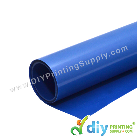 PU Vinyl Transfer Film (Blue) (30 x 50cm)