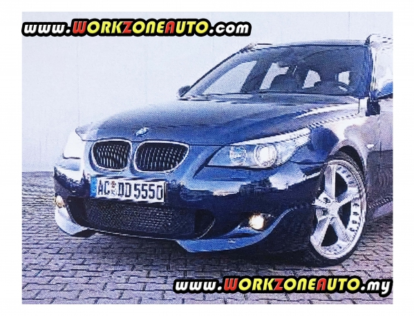 PU2654 BMW E60 PU Front Skirt (AC Schnitzer) For M Sport Bumper Only