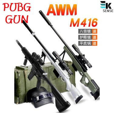 PUBG! Toy Gun AWM Sniper M416 M24 98K with Water Bullet