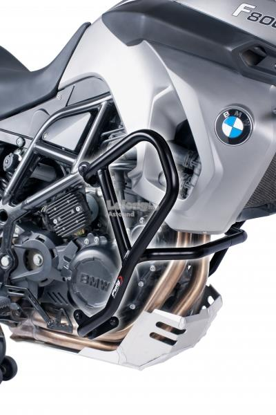PUIG Engine guards for BMW F650GS & F700GS (BLACK)