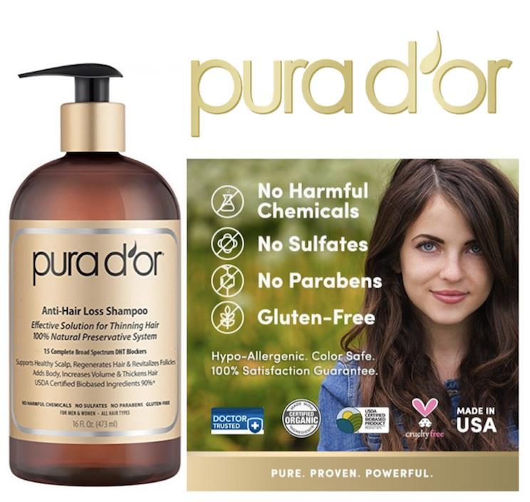 Pura D Or Anti Hair Loss Premium Gold End 3 9 2018 9 15 Pm