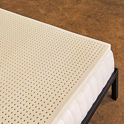 Pure Green 100% Natural Latex Mattress Topper - Firm - 2 Inch - King Size
