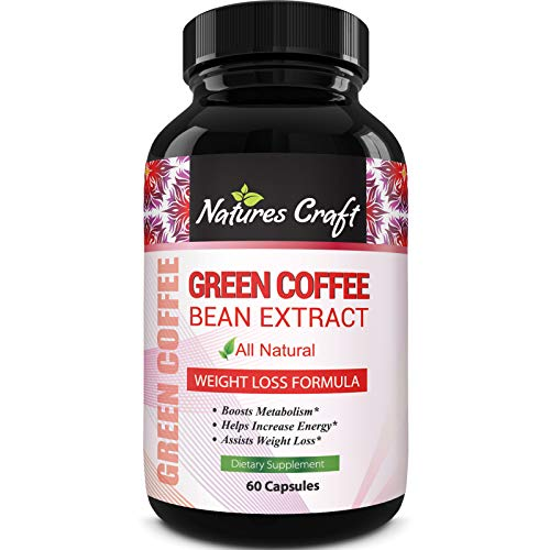 Pure Green Coffee Bean Extract and Standardized to 50% Chlorogenic Acid with W