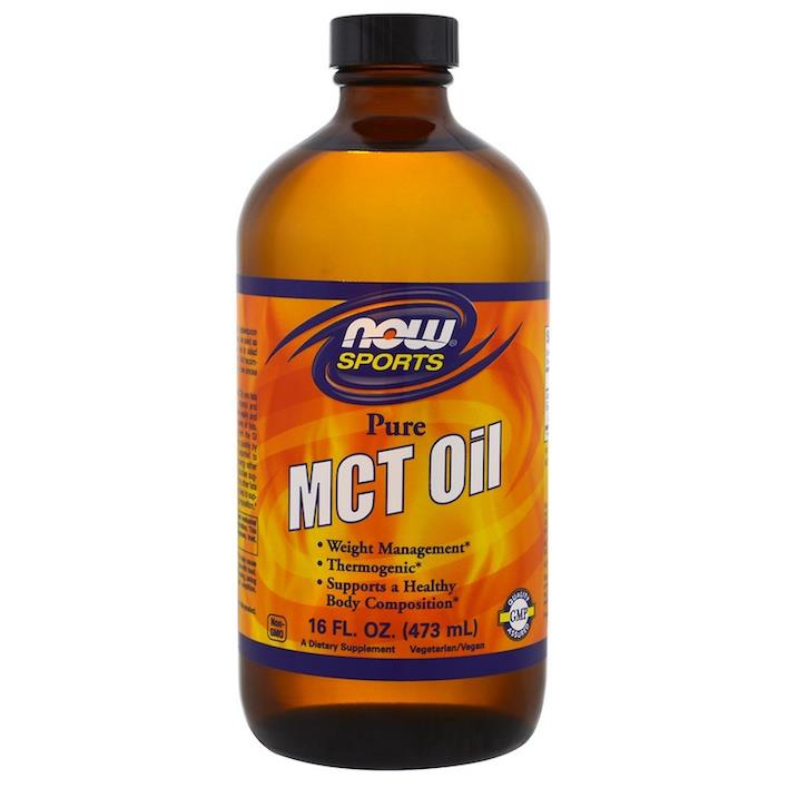 Pure MCT Oil 473ml, Vegetarian (Medium Chain Triglycerides) USA