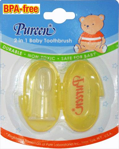 Pureen Baby Toothbrush & Gum Massager