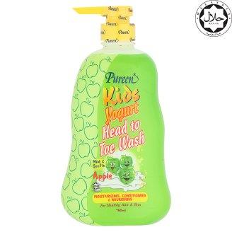 Pureen Kids Yogurt Head to Toe Bath Apple Flavor 750ml
