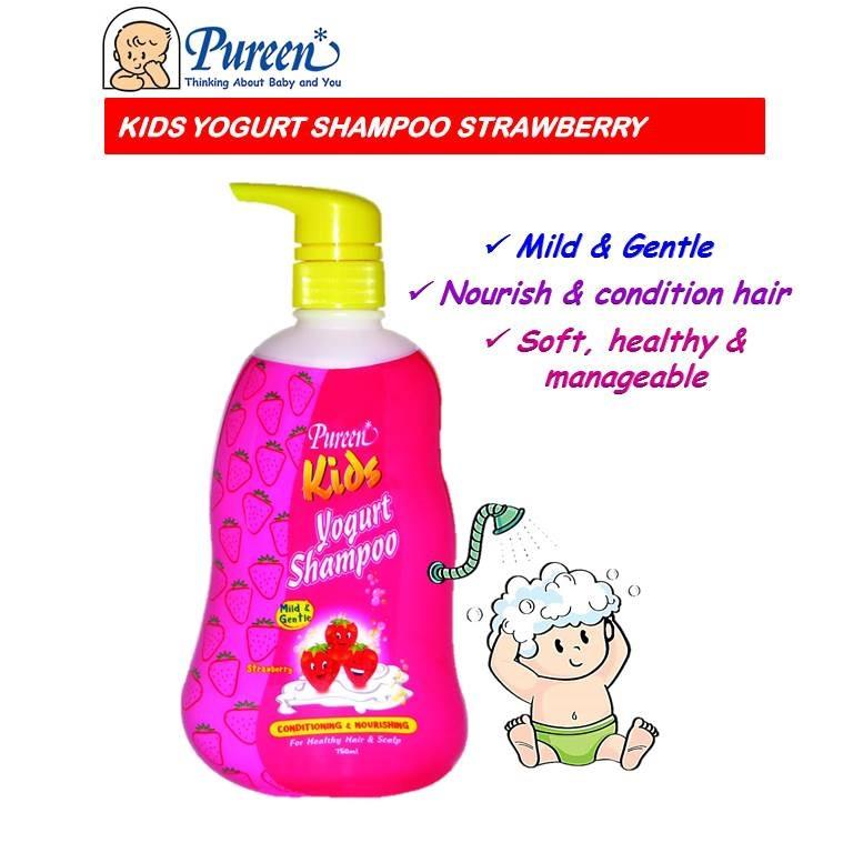 Pureen Kids Yogurt Shampoo 750ml (S (end 2/13/2021 11:15 AM)