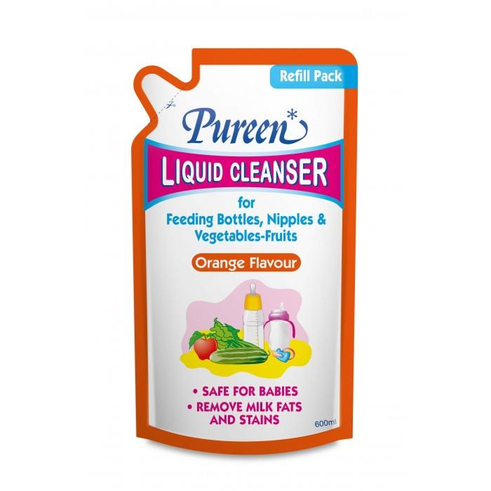PUREEN LIQUID CLEANSER REFILL ORANGE 600ML X 3