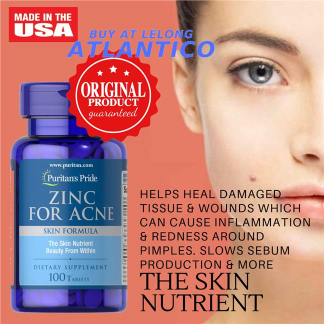 Puritan S Pride Zinc For Acne 100 Ta End 2 9 2019 9 56 Am