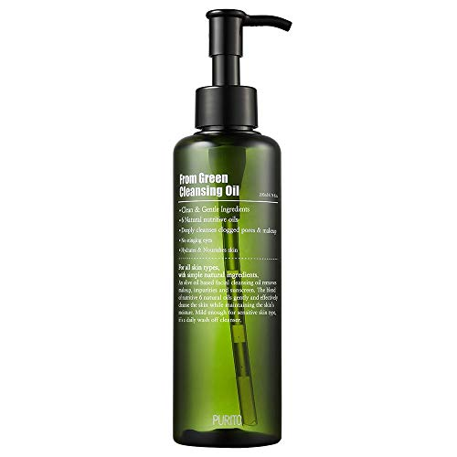 PURITO From Green Cleansing Oil 6.76 fl.oz / 200ml, Makeup Remover, Facial Cle