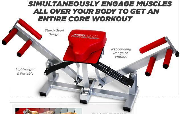 Verwonderlijk Push Up Pump -Full Body Workout in (end 1/20/2020 11:17 PM) WI-55