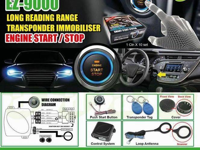 Push Start Button +Immobilizer System PnP Waja/Viva/Vios/Avanza/Altis