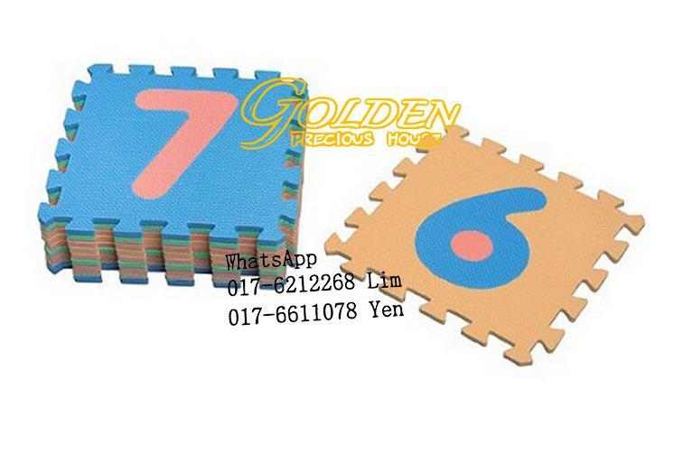 foam mat educational floor numbers ki kids for zoom colourful anti puzzle eva