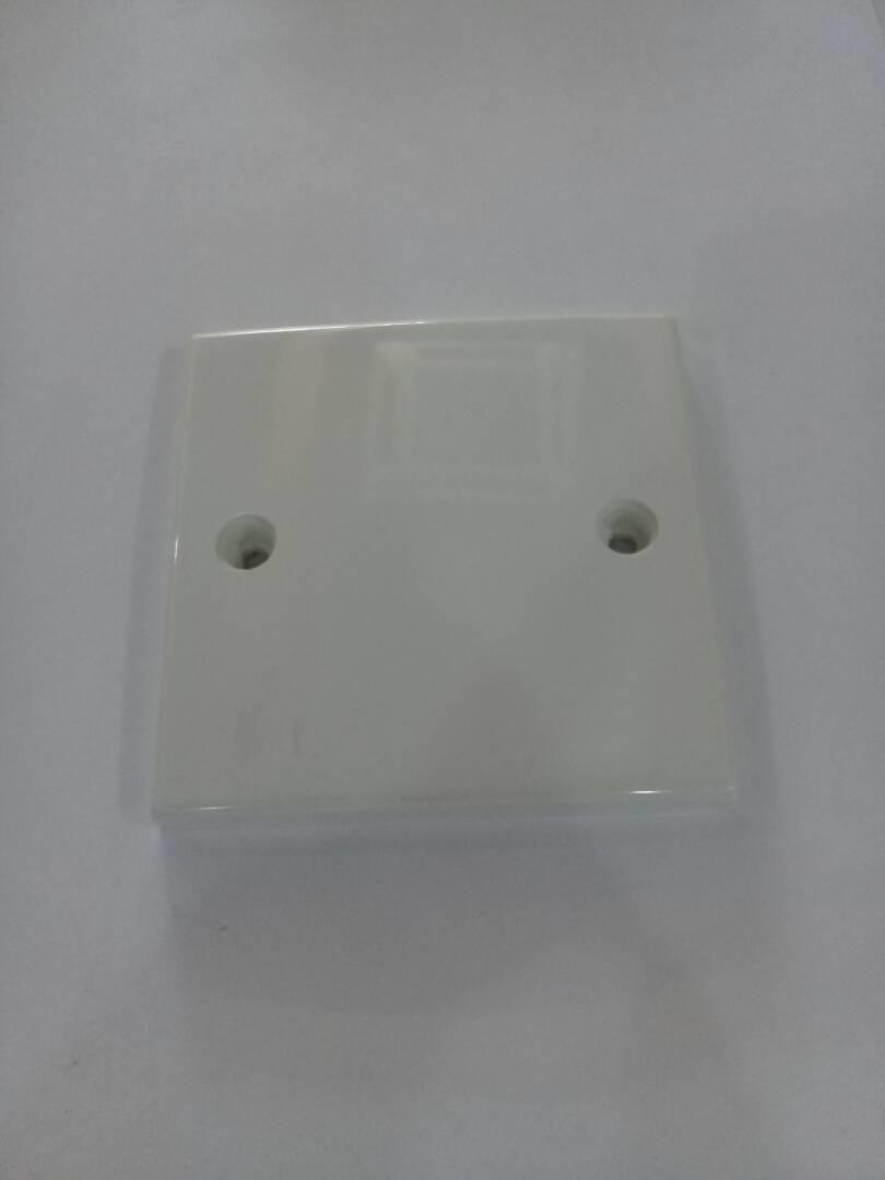 Pvc Blank Plate 3 X Switch Socket Box Blanking Cover